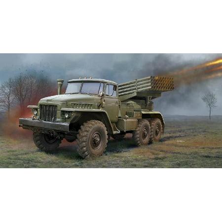 Multiple Rocket Launcher - Trumpeter Models 1028 1:35 Russian BM-21 Grad Multiple Rocket Launcher