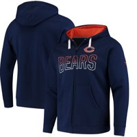 7523083e36e Product Image Chicago Bears NFL Pro Line by Fanatics Branded Iconic Fleece  Full-Zip Hoodie - Navy