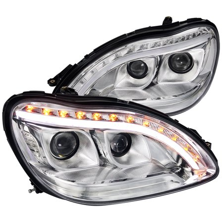 Spec D Tuning 2000 2005 Mercedes Benz W220 S Class Projector Headlights Lh Rh 2000 2001 2002 2003 2004 2005 Left Right