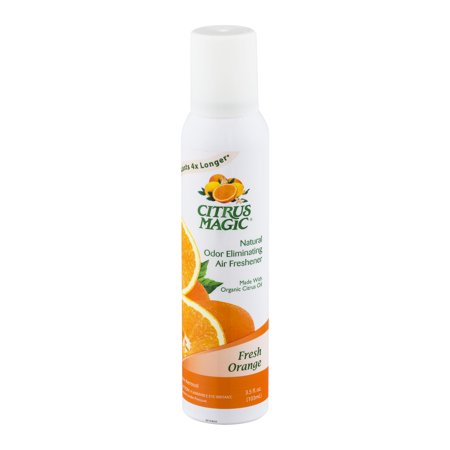 Citrus Magic Odor Eliminating Air Freshener Fresh Orange, 3.5 FL OZ