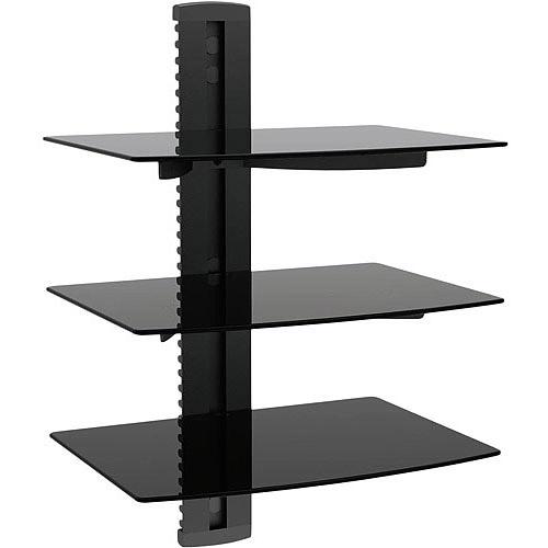 Ematic 3-Shelf DVD Player Wall Mount