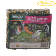 Birdola Trail Mix Jr. Seed Cake .43 lbs - Pack of 10