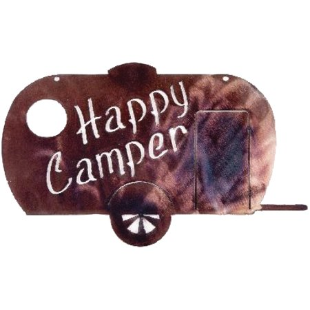 Outdoors Unlimited 65566 Happy Camper RV Metal - Outdoors Campers
