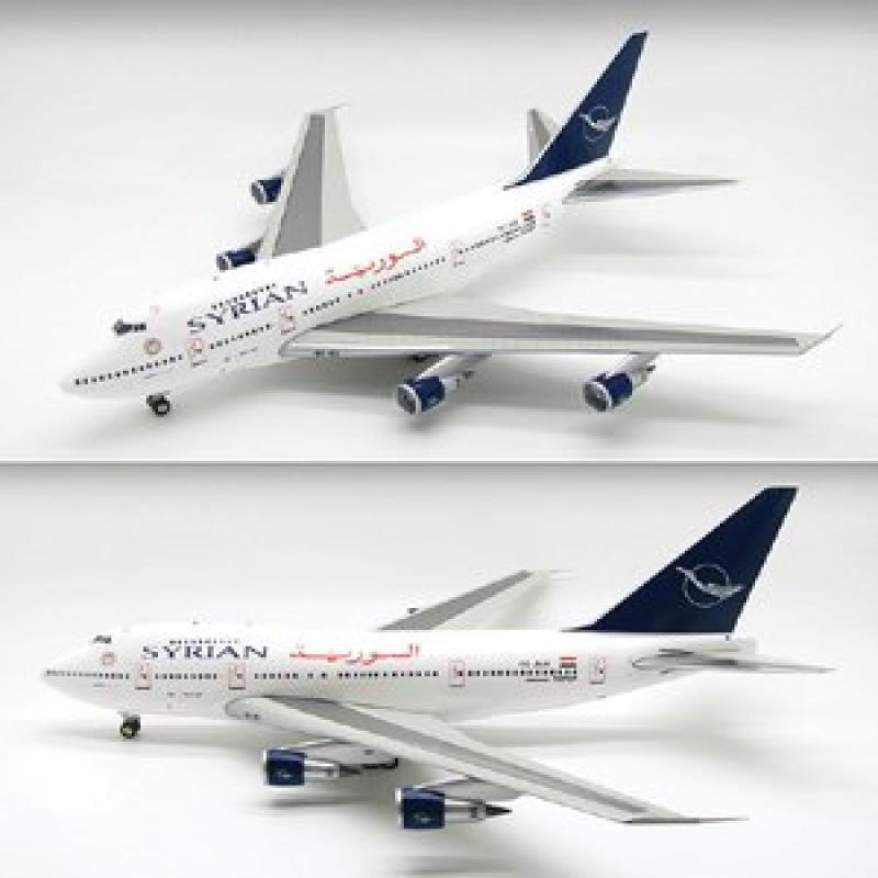 IF747SP023 InFlight 200 YK-AHA Syrian Air Boeing 747SP 1:200 Die Cast Model Airplane by
