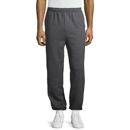 Gildan Men's Fleece Elastic Bottom Pocketed Sweatpants