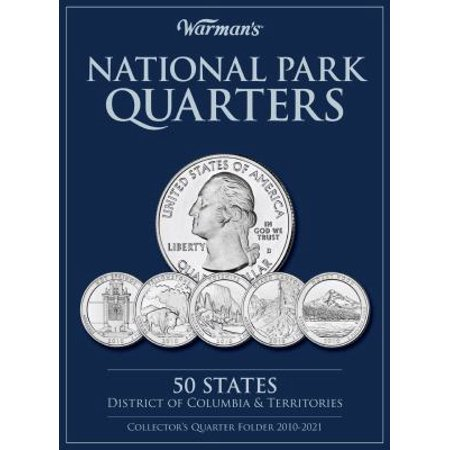 National Parks Quarters  50 States   District Of Columbia   Territories  Collectors Quarters Folder 2010 2021