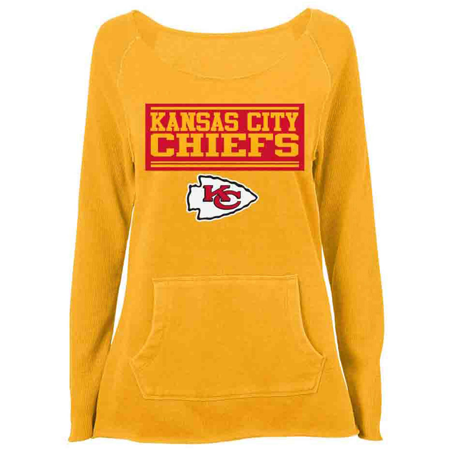 NFL Kansas City Chiefs Girls Fleece Top