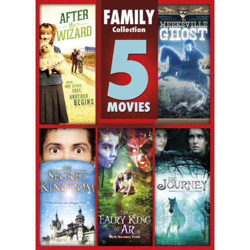 5-Movie Family Collection: After the Wizard / The Meeksville Ghost / The Journey / The Secret Kingdom / The Fairy King of Ar