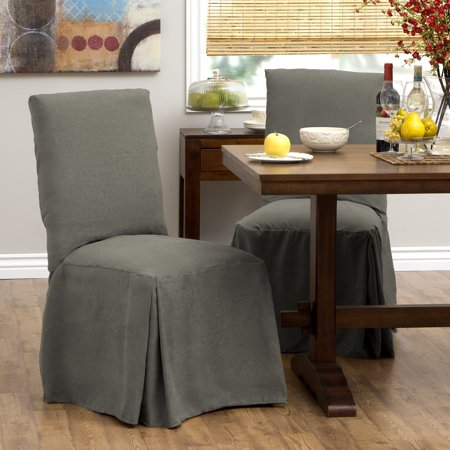 Tailor Fit Relaxed Fit Smooth Suede Tall Dining Chair
