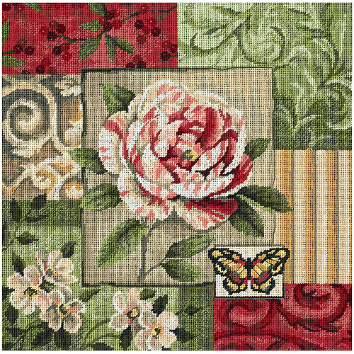 "Dimensions ""Classic Impressions"" Needlepoint Kit, 14"" x 14"""