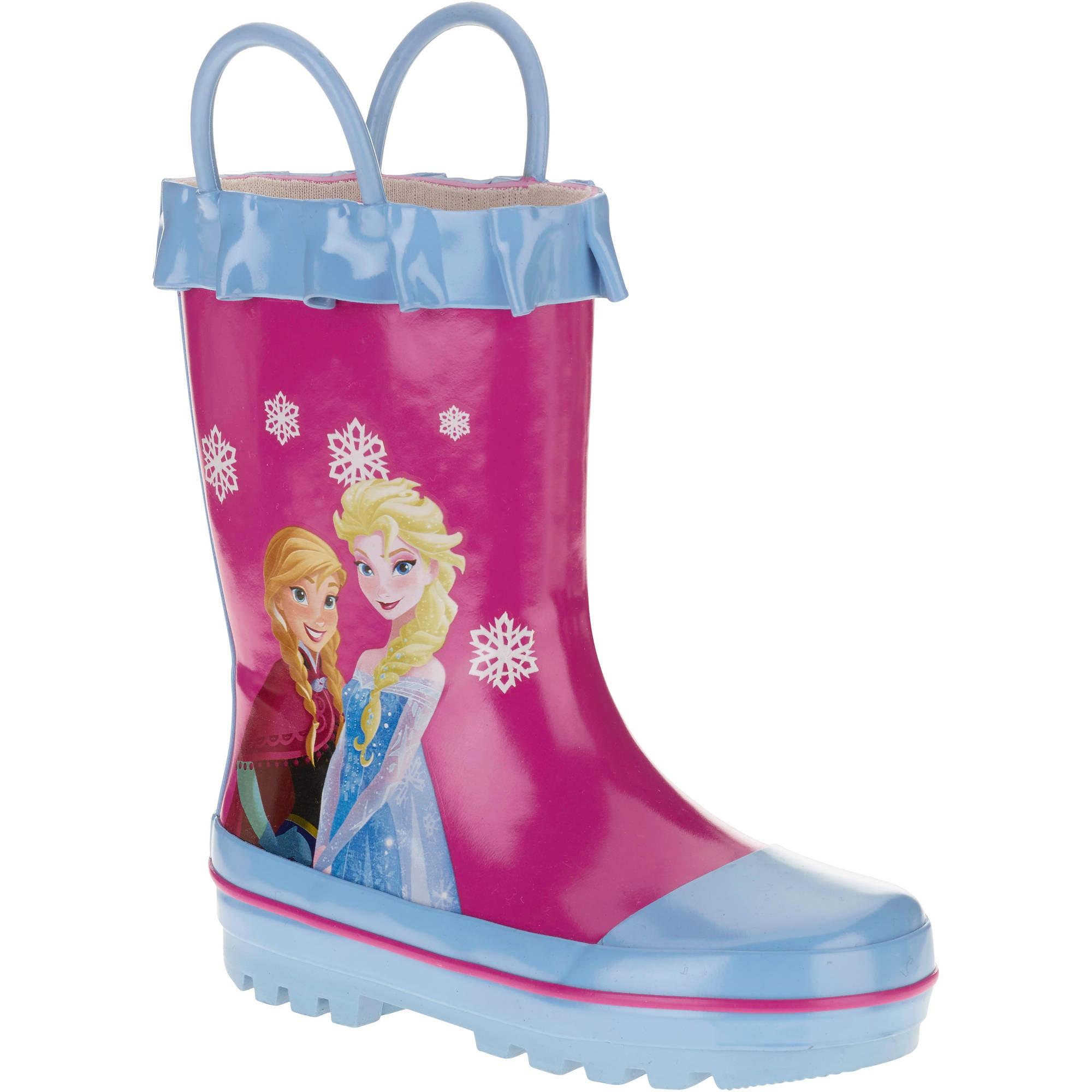 Disney Frozen Toddler Girls' Rainboot