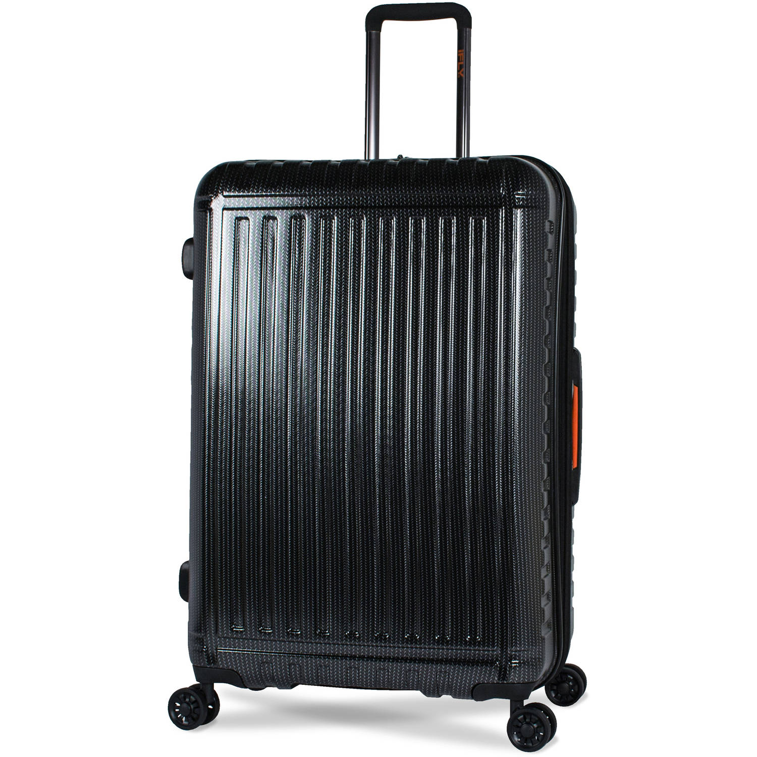 iFLY 28 Hard-Sided Racer Luggage, Black