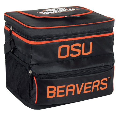 NCAA Oregon State University 18-Can Cooler with Removable Hardliner