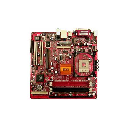 Refurbished-PC ChipsM925ALUSocket 478 Supports Pentium 4 / Celeron 400/533Mhz system bus, VIA P4M266A (NB)VT8235 (SB) chipsets. 2 x 184-pin DDR DIMM sockets and 2 x 168 Pin SDRAM DIMM sockets.