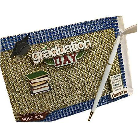Graduation Day Class of Guest Book with Pen Keepsake Gift - Graduation Gifts Ideas