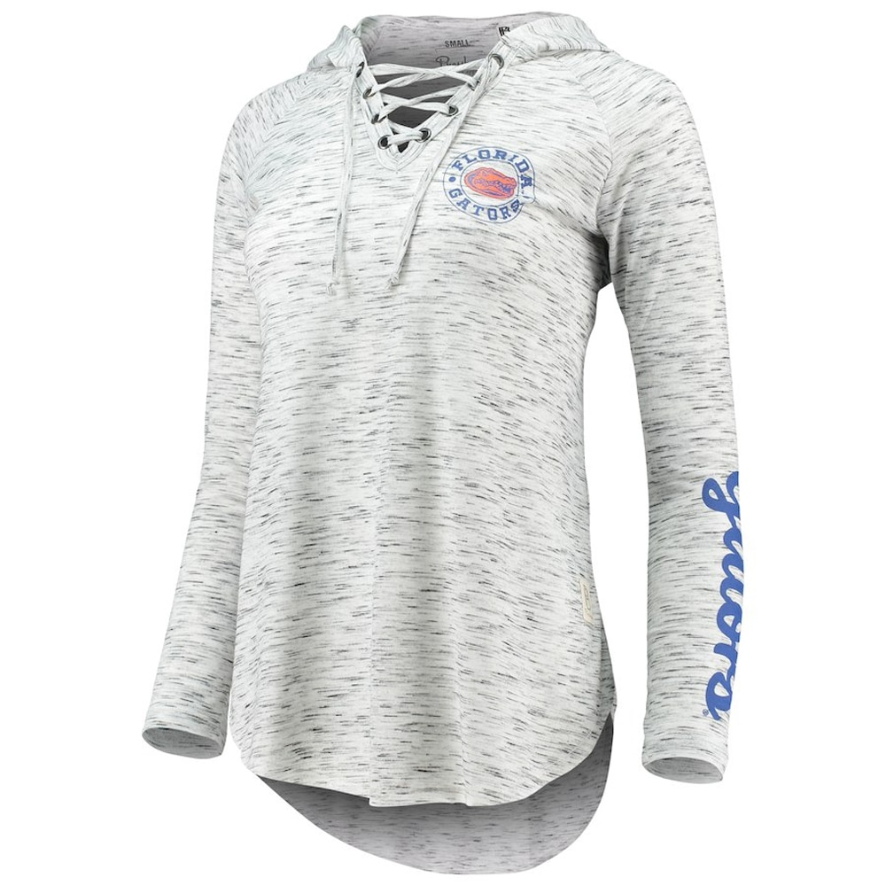Florida Gators Pressbox Women's Kate Lace-Up Long Sleeve T-Shirt