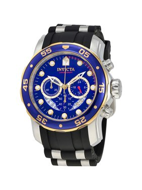 Invicta Men's Pro Diver 22971 Blue Silicone Quartz Diving Watch