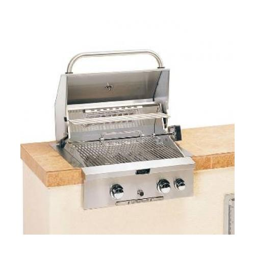 American Outdoor Grill  24PB 24 Inch Built-In Grill with Rotisserie Backburner: Liquid Propane