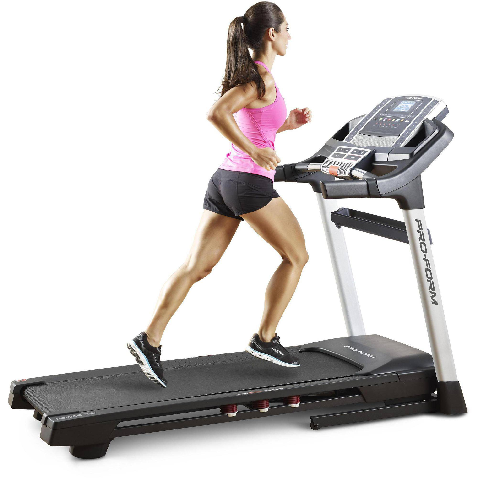 ProForm Power 795 Folding Treadmill with Power Incline and Workout Fan