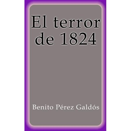El terror de 1824 - eBook