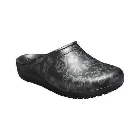 Crocs Women's Sloane Graphic - Crocs Leather Clogs