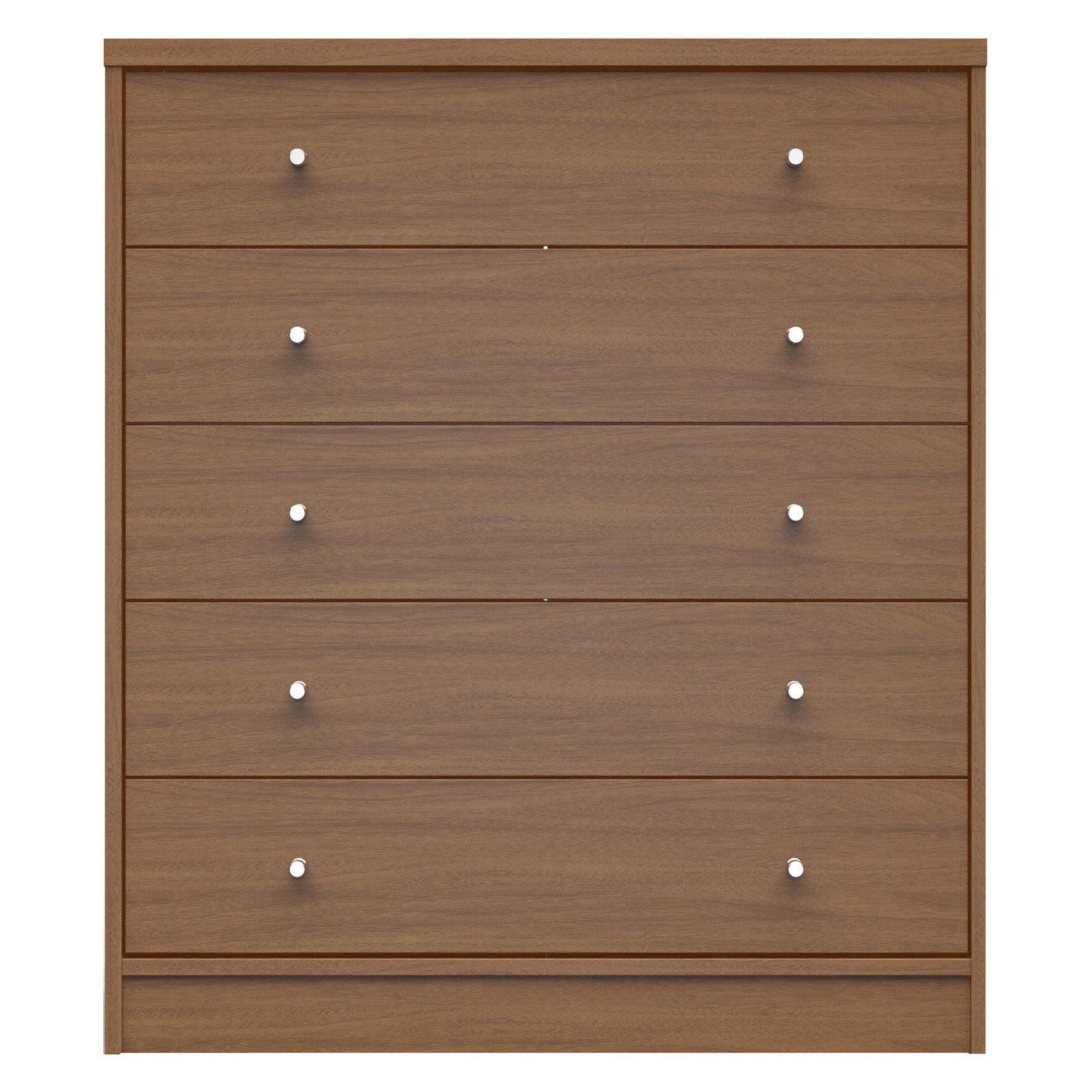 Manhattan Comfort Astor 2.0 5 Drawer Dresser