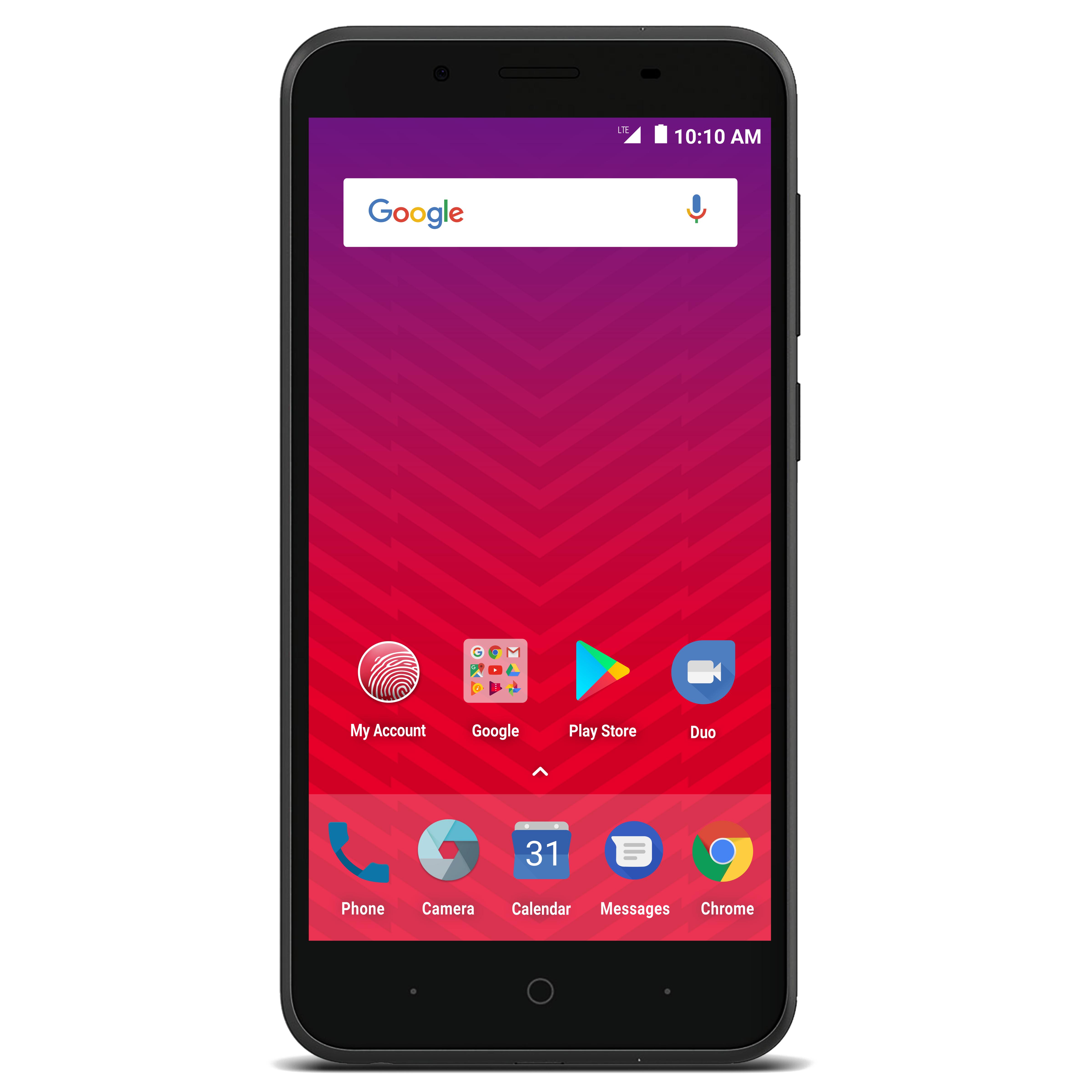 Virgin Mobile ZTE Tempo X 8GB Prepaid Smartphone, Black