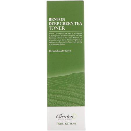 Benton Deep Green Tea Toner, 5.07 Fl Oz