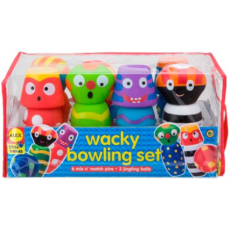ALEX Toys Early Learning Wacky Bowling Set