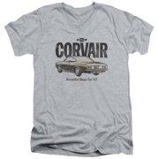 Chevy Retro Corvair Mens V-Neck Shirt