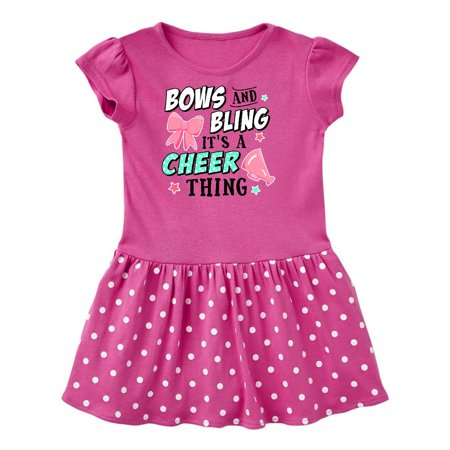 Bows and Bling Its a Cheerleading Thing Toddler