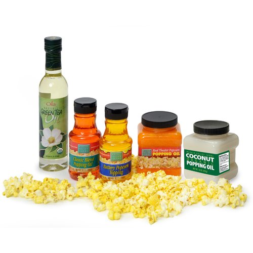 Wabash Valley Farms Premium Popcorn Popping Oil Sampler Set