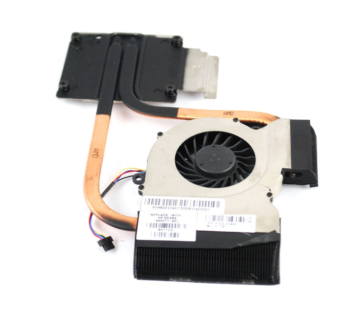 HP 598248-001 Heatsink kit with thermal grease For processor 1