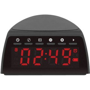 - QI WRLS CHARGING FM CLOCK RADIO W/ BT STREAMING