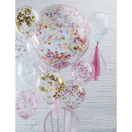 12inch 4style Balloon Party wedding decoration multicolor confetti balloon Thickening Pear ballons decoration birthday Star sequins 12inch
