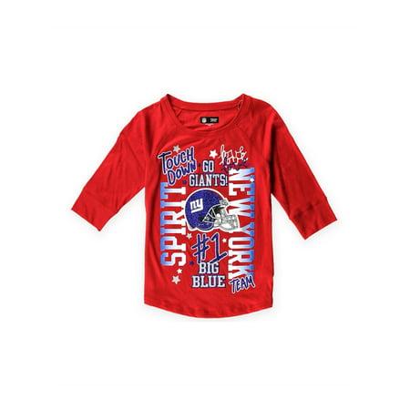 Justice Girls ny Giants Spirit Graphic T-Shirt redblue 16/18 - Big Kids (8-20) - image 1 of 1