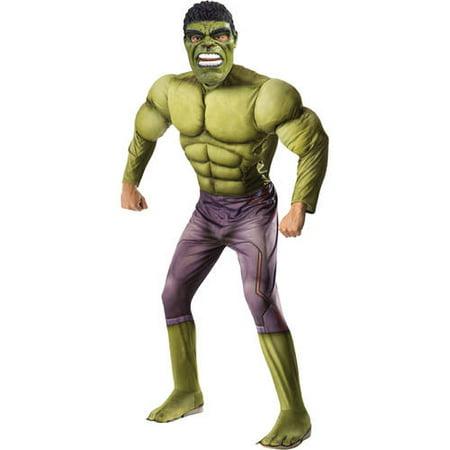 Thor: Ragnarok - Hulk Adult Costume - Hulk Onesie For Adults