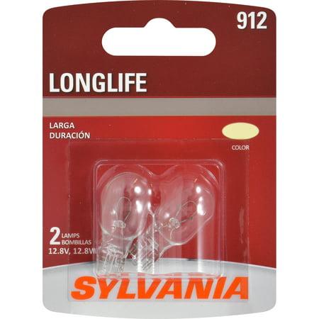 SYLVANIA 912 Long Life Mini Bulb, Pack of 2