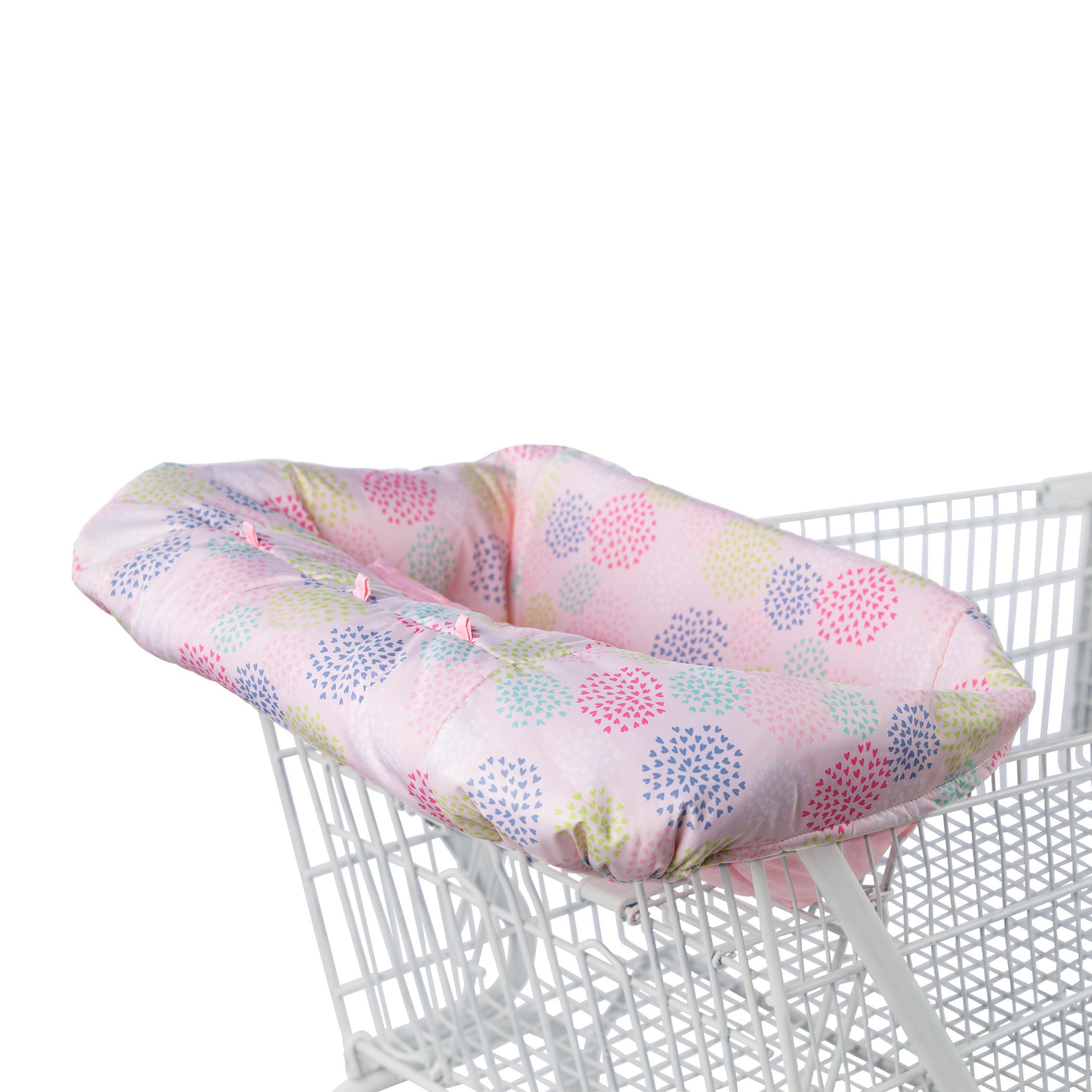 Comfort & Harmony Cozy Cart Cover - Pink Floral