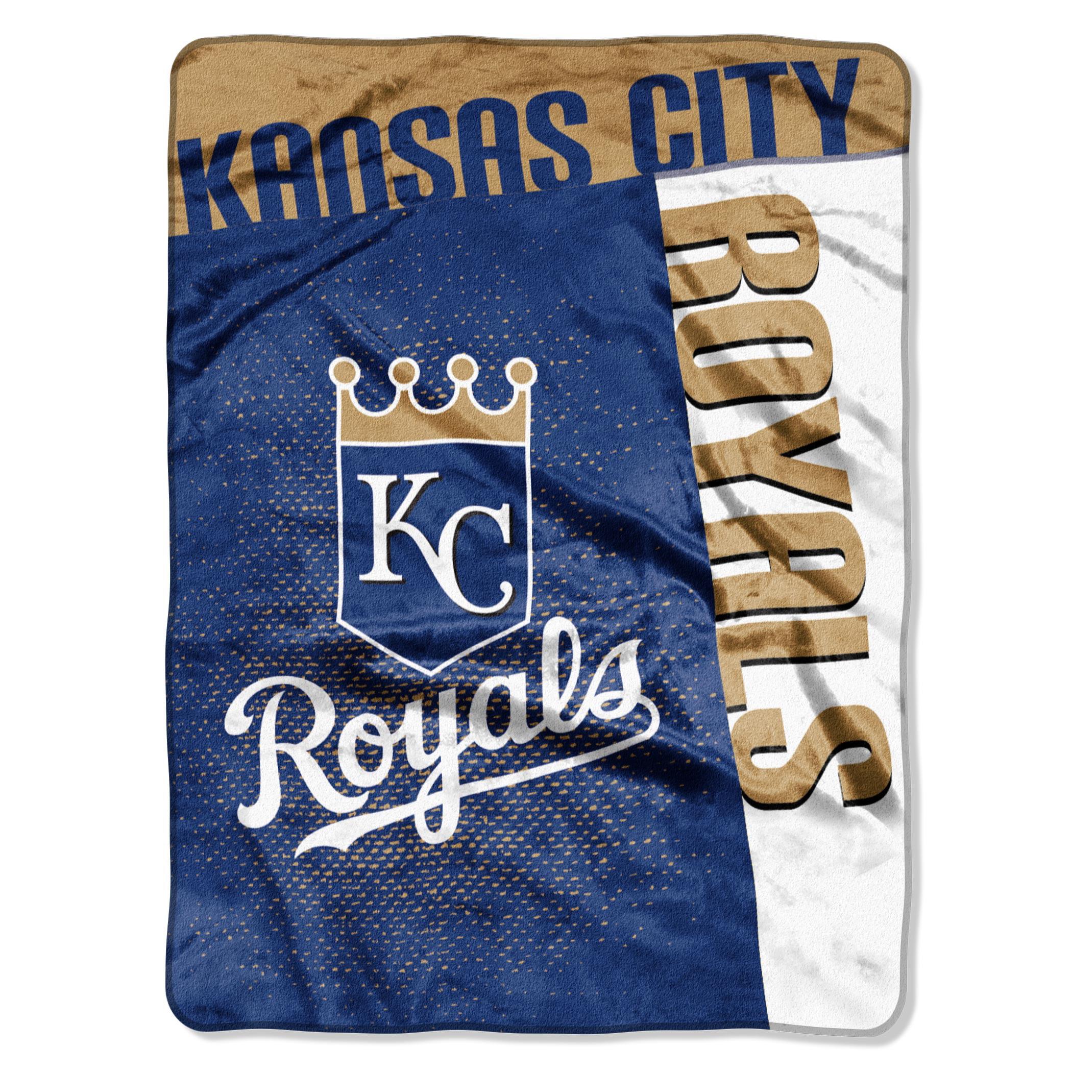 "Kansas City Royals 60"" x 80"" Strike Raschel Blanket - No Size"