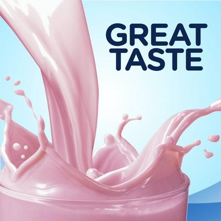 Ensure Plus Nutritional Shake, 13g Protein, Strawberry, 8 fl oz, 24 count
