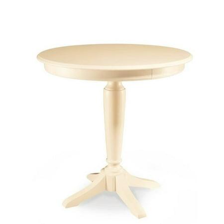 American Drew Camden Bar Height Pedestal Table in Buttermilk