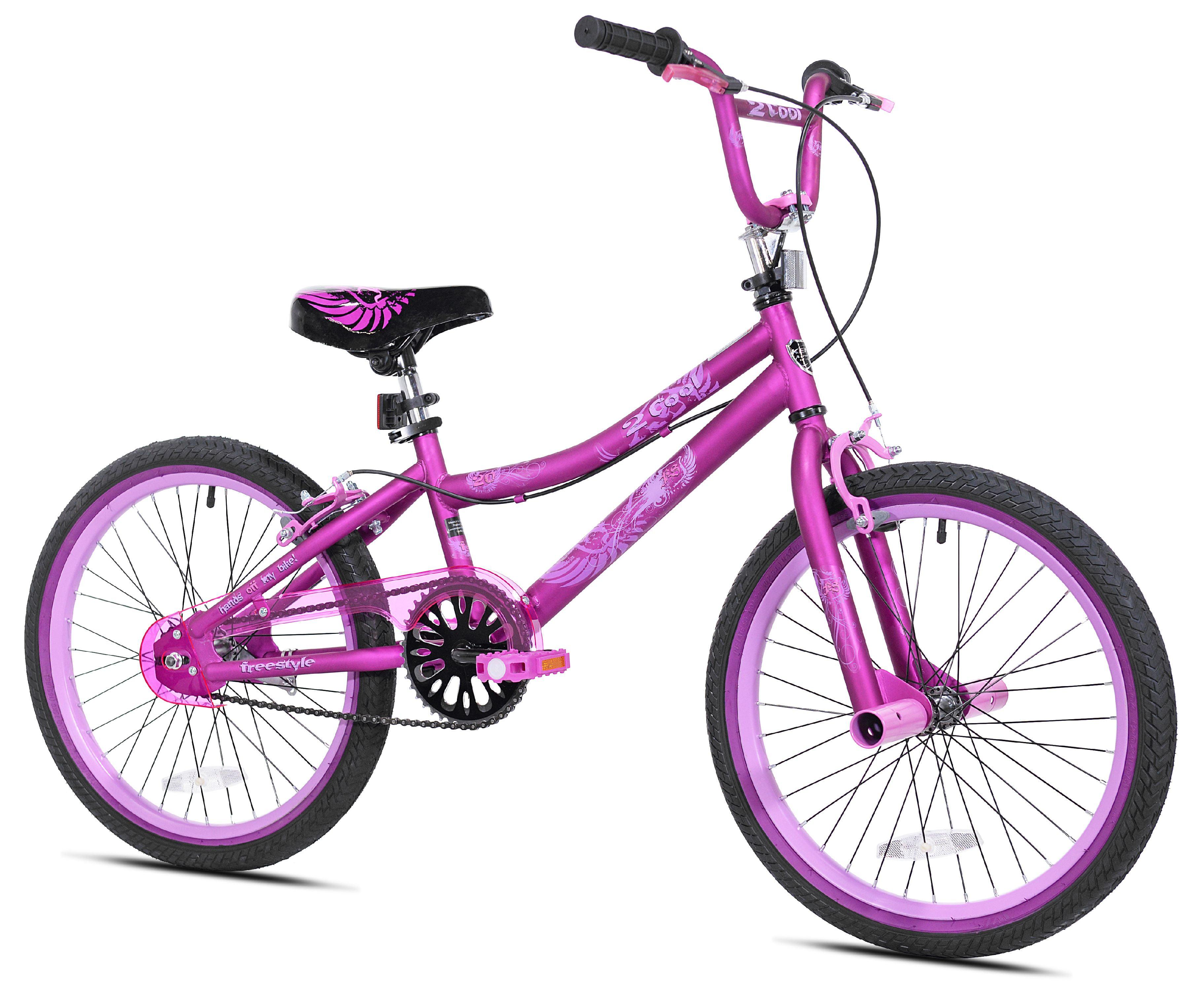 "Kent 20"" 2 Cool Girls' BMX Bike, Satin Purple by Kent International Inc"