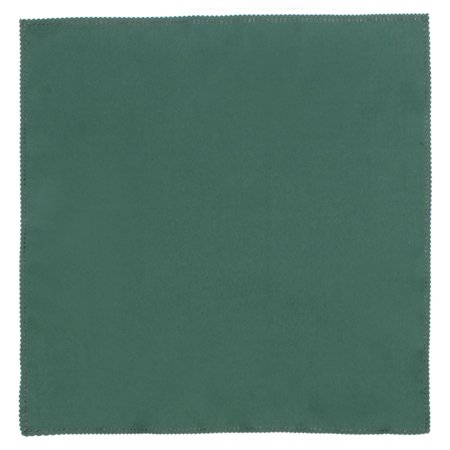 Home Fabric Square Table Decor Placemat Dinner Cloth Napkin Dark Green 50 x 50cm ()