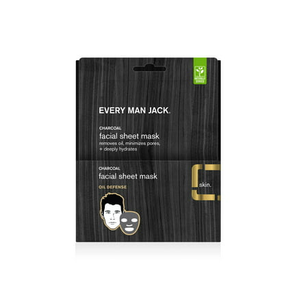 Every Man Jack 1 CT. Volcanic Clay Facial Mask | Oil (Volcanic Recharge)