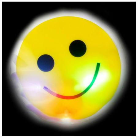 "Lumistick 3"" Light-Up Smiley Face Sticker - Walmart.com"