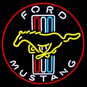 Neonetics Ford Mustang Neon Sign