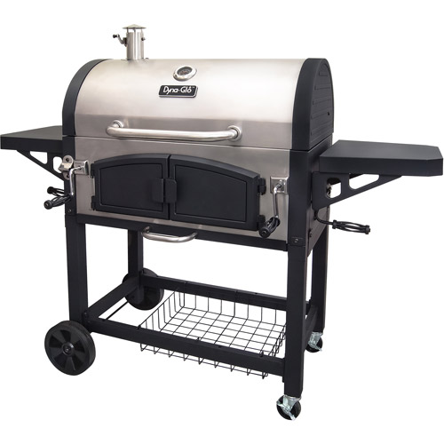 Dyna-Glo Dual Zone Premium Charcoal Grill, DGN576SNC-D by GHP Group, Inc.