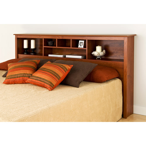 Edenvale King Storage Headboard, Cherry by Prepac