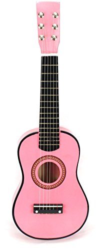 VT Classic Acoustic Beginners Children's Kid's 6 String Toy Guitar Musical Instrument w ... by Velocity Toys